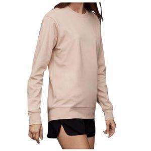 Aritzia Pale Pink Hagan Sweatshirt Size XXS